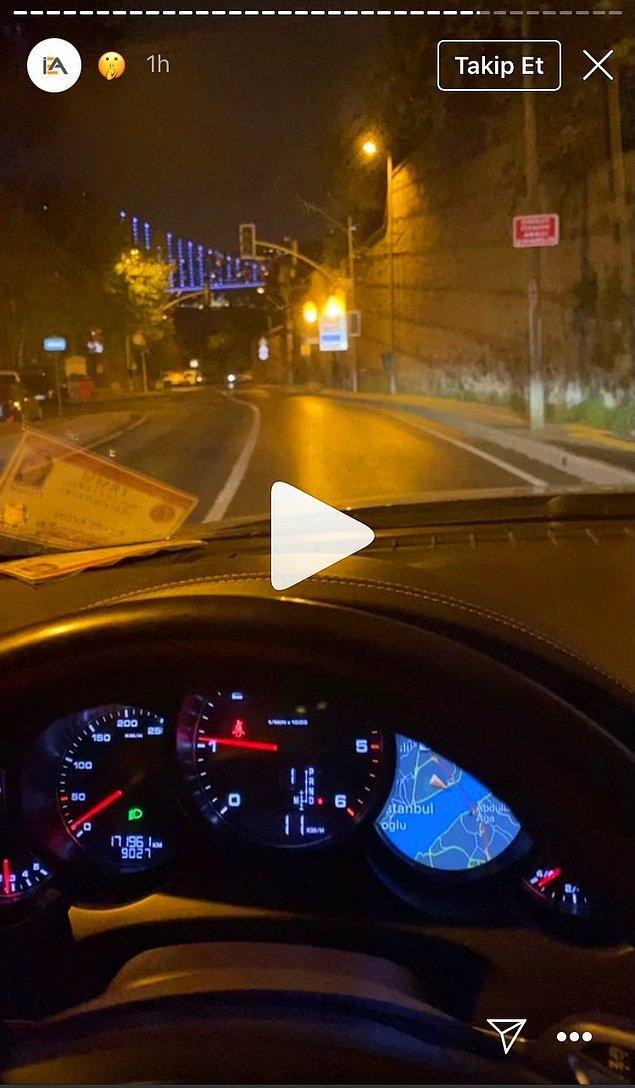 Paylaşılan videolardan birinde ise, araçtaki milletvekili kimlik kartı dikkat çekti.