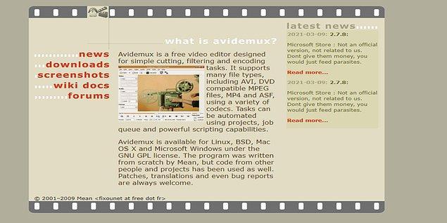 6. Avidemux