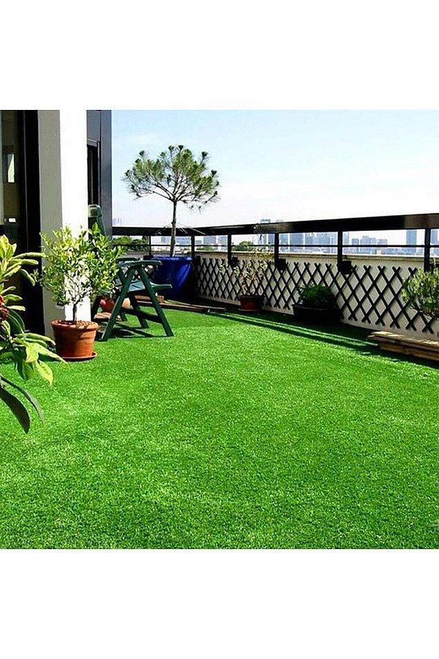 1. Balkonuna bir bahçe görünümü kazandırabilirsin...