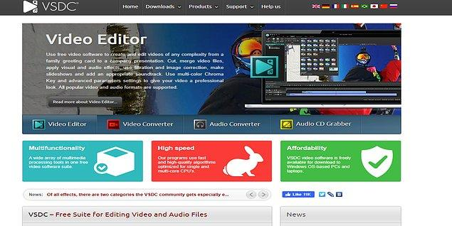 10. VSDC Free Video Editor