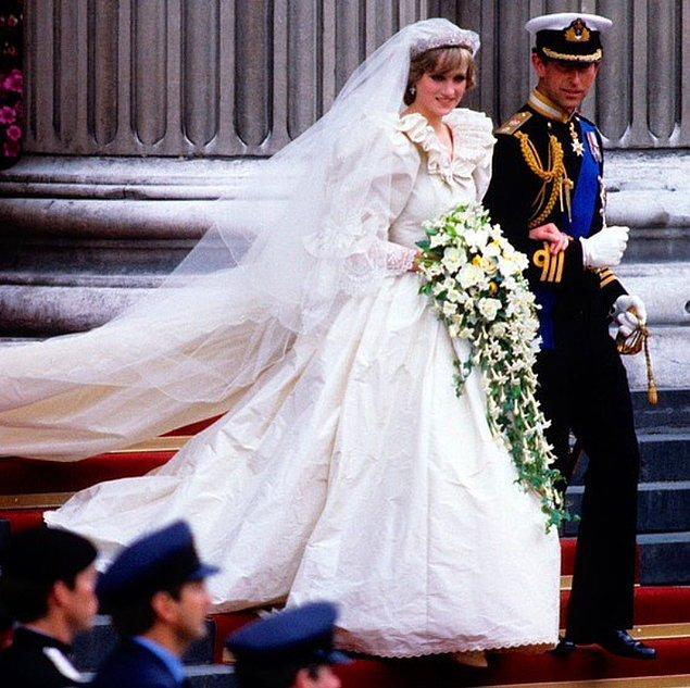 4. Prens Charles ve Prenses Diana