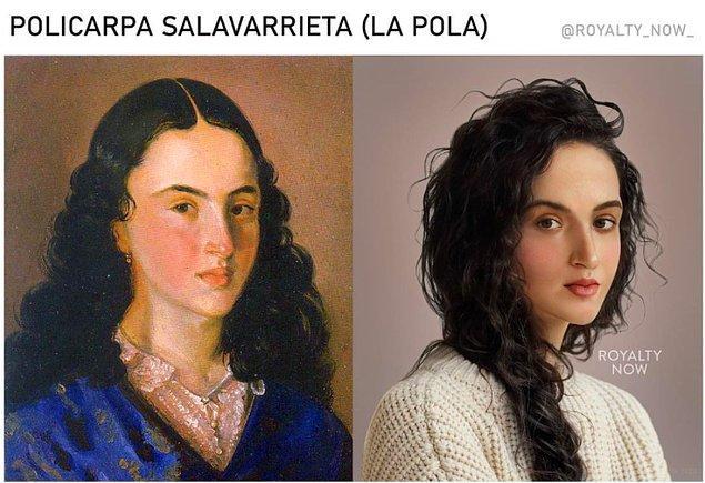 La Pola olarak da bilinen Kolombiyalı kahraman Policarpa Salavarrieta...