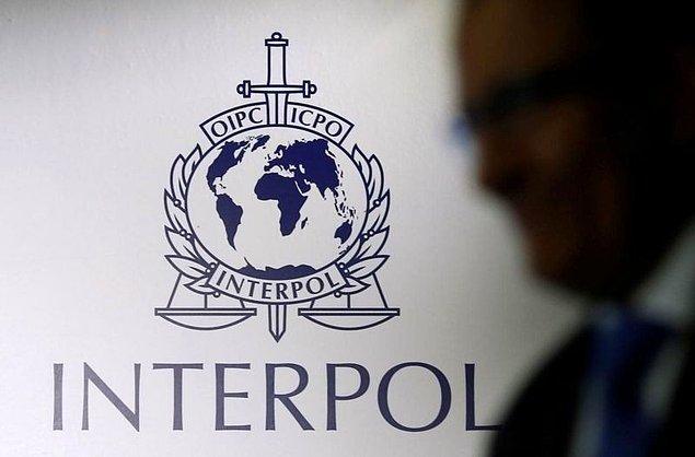 Interpol kırmızı bülten çıkardı mı?