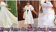 Sizi Bir Melek Gibi Hissettirecek 19 Beyaz Elbise