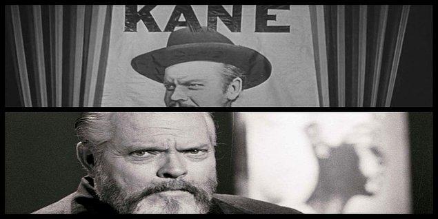 4. Orson Welles, Citizen Kane setinde 10 metre yüksekten düşerek ayak bileğini kırmış. Haftalarca tekerlekli sandalye kullanmış.