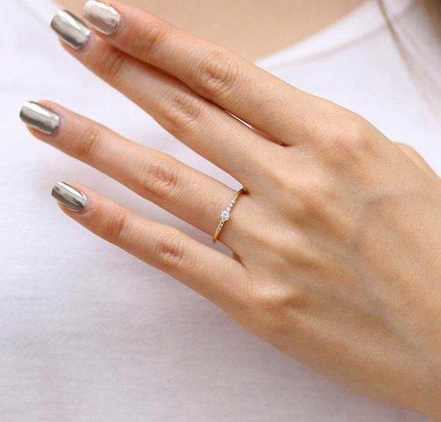 3. Özellikle böyle uzun parmaklarda inanılmaz güzel duruyor.