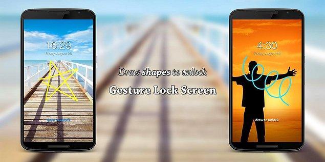 8. Gesture Lock Screen