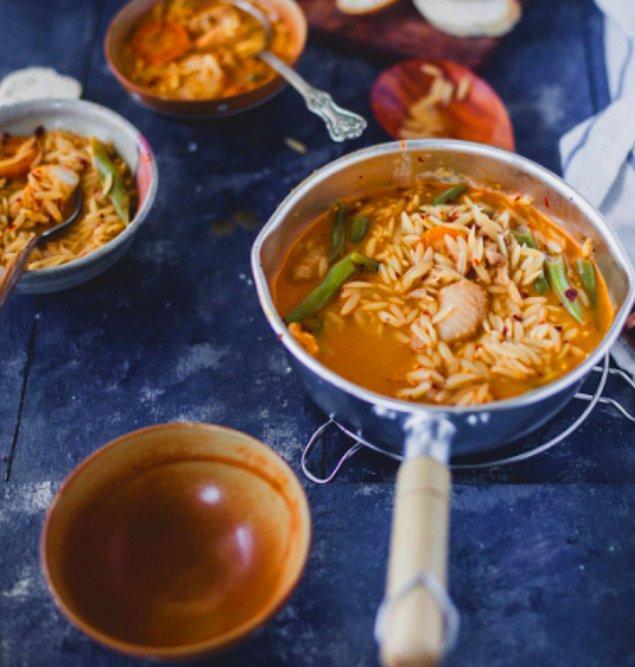 8. Balık Çorbası
