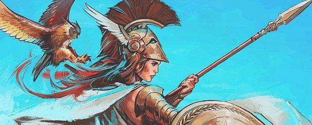 Athena çıktın!