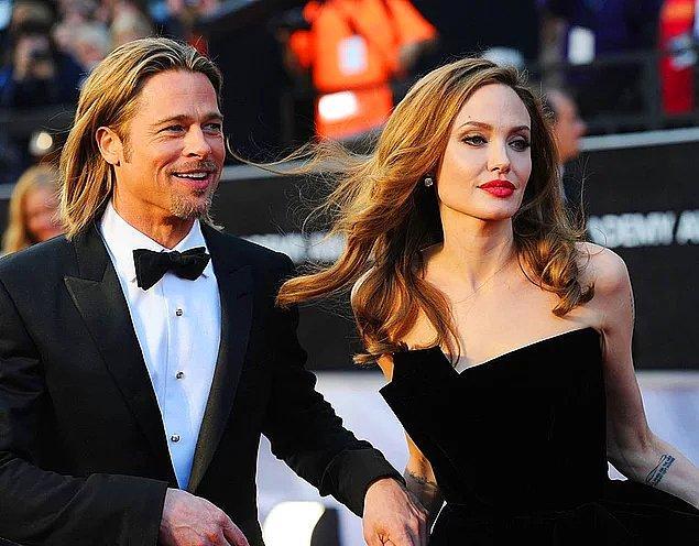 Biliyorsunuz ki Brad Pitt ve Angelina Jolie bir zamanların en gözde çiftlerinden bir tanesiydi!