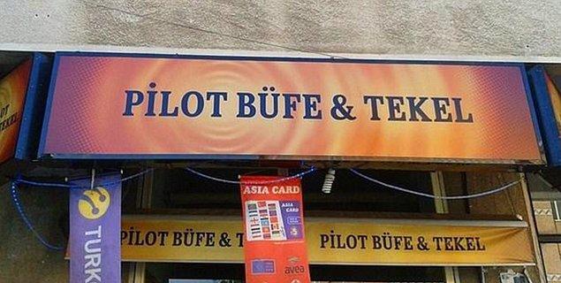 31. Pilot Büfe & Tekel