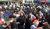 Hopa'da 'Emeğimizi Savunuyoruz' Diyen Çay Üreticilerine Polisten Sert Müdahale