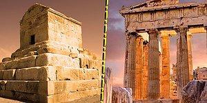 Bu Tarihi Yapılardan Hangisinin Türkiye'de Olduğunu Bulabilecek misin?