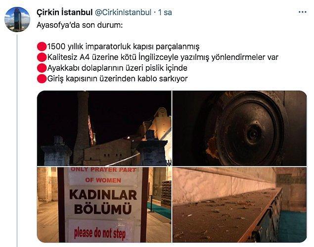 """Bu endişelerinde de haklı çıktılar ne yazık ki.  """"Çirkin İstanbul"""" isimle hesabın paylaştığı son fotoğraflar insanın içini parçaladı."""
