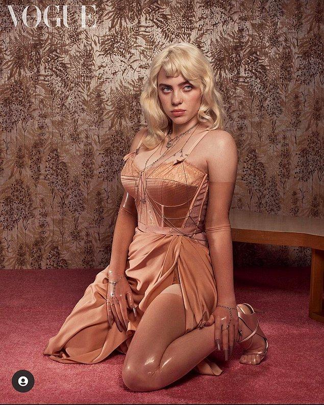"""1. Müzik sektörünün en genç ünlülerinden biri olan Billie Eilish, şöhretin """"saçma"""" olduğunu söyledi."""