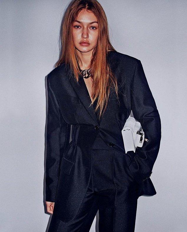 7. Gigi Hadid, başarılı bir podyum modeli olduktan birçok arkadaşını kaybettiğini söyledi.