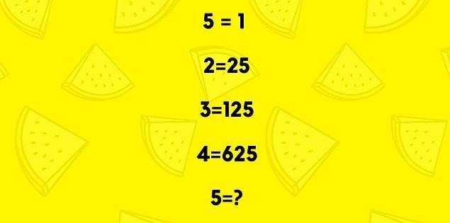 7. Soru işareti yerine hangisi gelmeli?
