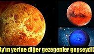 Dünya'nın Uydusu Ay Yerine Diğer Gezegenler Olsaydı Ne Olurdu?