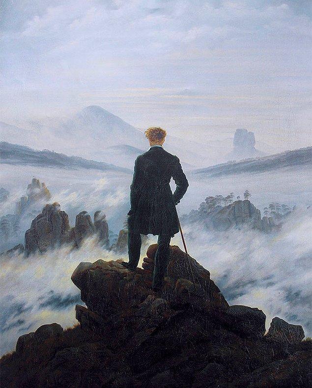 2. Depresif ve gergin ancak bir o kadar da durağan bir hava varsa muhtemelen bu Alman romantizmidir.
