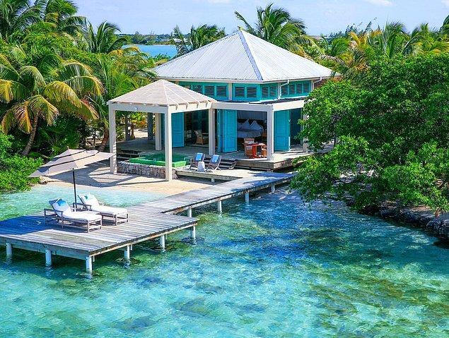 4. Belize'de Cayo Espanto Adası
