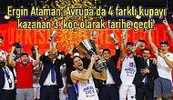Yine Ergin Ataman Yine Kupa! THY EuroLeague'de Şampiyon Anadolu Efes