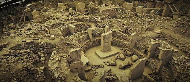 6. Göbeklitepe Unesco Dünya Miras Listesi'nde yer alıyor.