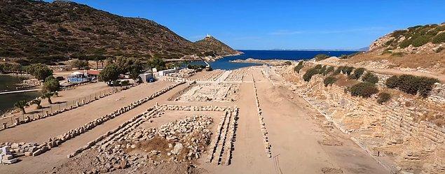 9. Türkiye'deki ören yerleri gezmeyi sevenlerin uğrak noktası Knidos antik kenti.