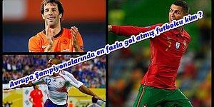 Avrupa Şampiyonalarında En Çok Gol Atan Futbolcuyu Bulabilecek misin?