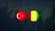 A Milli Futbol Takımı, Gine ile Hazırlık Maçında Karşı Karşıya Geldi