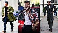 Erkekler Nasıl Giyinsin? İşte Böyle Giyinsin👇 David Beckham'ın İlham Veren Tarzını İnceliyoruz