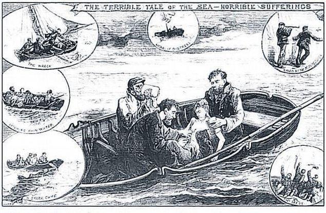 Kurtuluş için bir umut beklerken ekibin en küçük üyesi Richard deniz suyu içmekten hastalanır.
