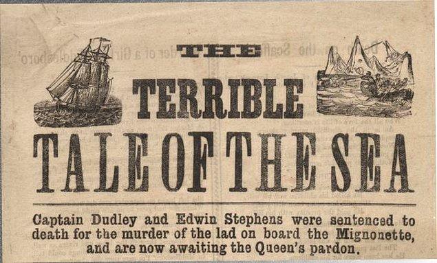 Olaydan birkaç gün sonra mürettebat bir Alman ticaret gemisi tarafından kurtulur, fakat filikanın kan içinde olması herkesi telaşlandırır.