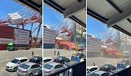 Konteyner Gemisinin Limana Fazla Yakın Hareket Etmesi Sonucunda Yaşanan Korkunç Kaza
