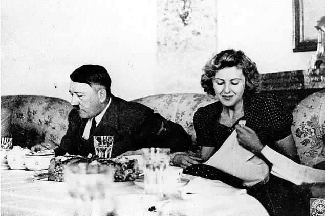 Çünkü Hitler her zaman ülkesi ile evli bir adam imajını korumak istiyordu ve başka bir kadınla olduğunun duyulmasının imajını sarsacağını çok iyi biliyordu.