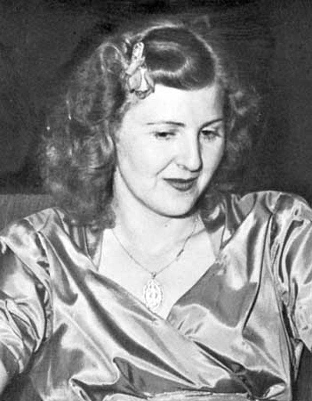Eva Braun'u iyice araştırdı ve onun tamamen ''saf'' bir Alman olup olmadığına baktı.