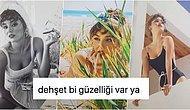 Aşk İyi Gelmiş! 😍 Hande Erçel Vogue Dergisine Verdiği Boy Boy Pozlarla Gözlerden Kalpler Çıkardı