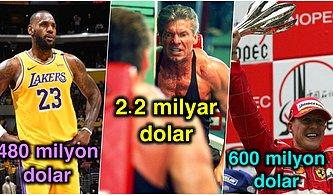 Bu Sayıları Duyunca Uzaklara Dalacaksınız! Spor Dünyasının En Zengin İsimleri