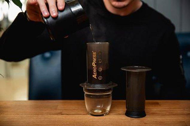 4. Pratik, yumuşak içimli kahveler...