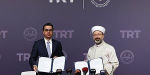 Protokol İmzalandı: 'TRT Diyanet Çocuk Kanalı' Kuruluyor