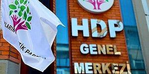 HDP'ye Yeniden Açılan Kapatma Davası İçin Raportör Görevlendirildi