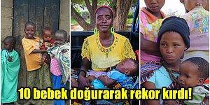 Tek Seferde 10 Çocuk Doğurarak Guinness Rekorlar Kitabı'na Giren Afrikalı Kadın: Goisame Thamara Sithole