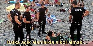 Açık ve Net Yanıtı Veriyoruz: Sahil, Park Gibi Halka Açık Alanlarda Alkol Almak Yasak mı?