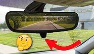 Otomobilinizde Dikiz Aynasının Altında Yer Alan O Minik Mandal Ne İşe Yarıyor?