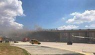 Atatürk Havalimanı'nda Oksijen Tüpü Patladı