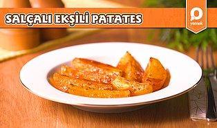 Patatesi Hiç Bu Şekilde Pişirdiniz Mi? Ekşili, Salçalı Patates Nasıl Yapılır?