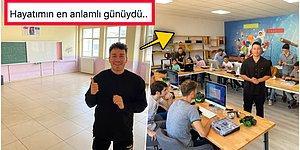 Ünlü YouTuber Enes Batur Şehit Öğretmen Aybüke Yalçın'ın Görev Yaptığı Okula Robotik Kodlama Sınıfı Yaptırdı!