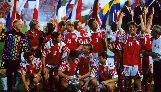 5. Danimarka - 1992 Avrupa Şampiyonası