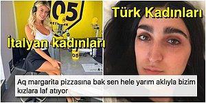 Türkiye İtalya Maçı Öncesi Türk Kadınlarıyla Alay Eden İtalyan Kullanıcıya Kapak Gibi Tepkiler Geldi