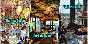 Baktığınızda İçinizi Dünya'yı Gezme İsteği İle Dolduracak Birbirinden Eşsiz 20 Görkemli Kafe
