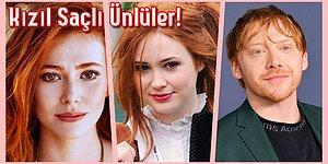 Yine Bakmalara Doyamadık: Kızıl Saçlarıyla Hayran Bırakan 15 Ünlü İsim